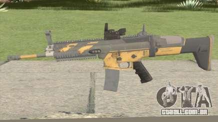 PUBG Nagant SCAR-L Anniversary para GTA San Andreas