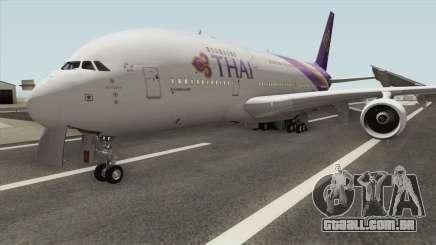 Airbus A380-800 (Thai Airways Livery) para GTA San Andreas