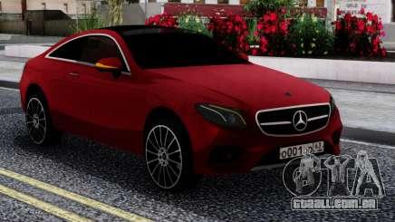 Mercedes-Benz E400 W213 Coupe RED para GTA San Andreas