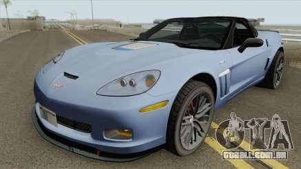 Chevrolet Corvette ZR1 2010 Spyder para GTA San Andreas