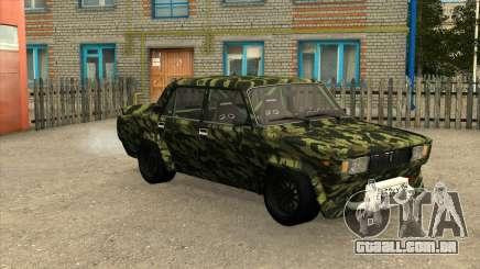 VAZ 2105 Deriva de Camo para GTA San Andreas