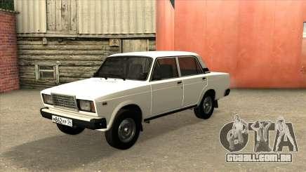 2107 De Drenagem Branco para GTA San Andreas
