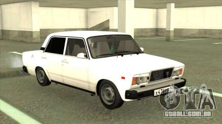 VAZ 2107 Limousine Branco para GTA San Andreas