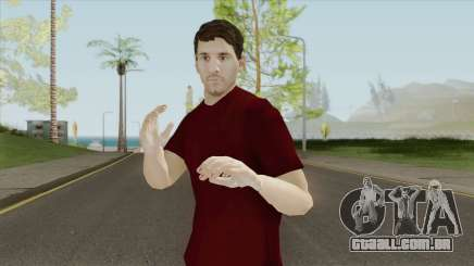 Lionel Andres Messi In Casual Clothes para GTA San Andreas