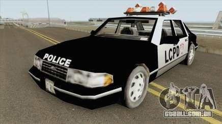 Police Car GTA III para GTA San Andreas