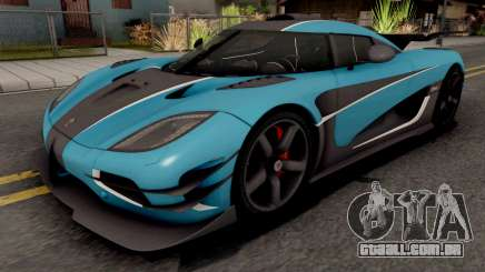 Koenigsegg One:1 2015 para GTA San Andreas