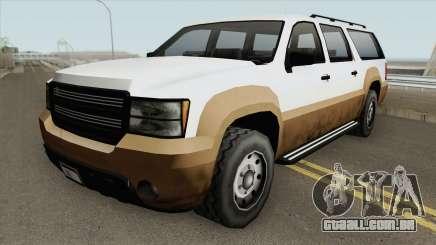 Declasse Granger GTA V (SA Style) para GTA San Andreas
