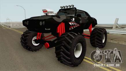 Pontiac Firebird Monster Truck Shark 1968  para GTA San Andreas