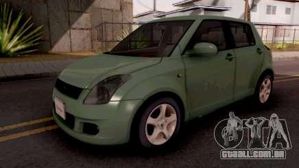 Suzuki Swift Green para GTA San Andreas