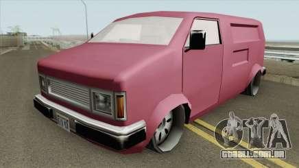 Pony Disco Van para GTA San Andreas