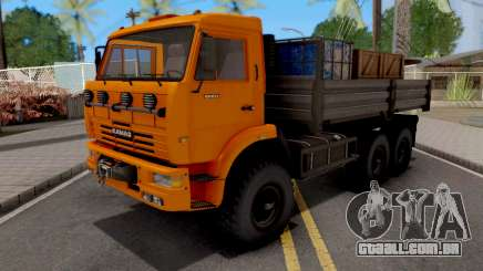 KamAZ-6522 6x6 para GTA San Andreas