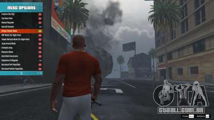 Menyoo PC Single-Player Trainer Mod v1.0.1 para GTA 5
