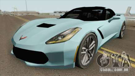 Chevrolet Corvette C7 Stingray (SA Style) para GTA San Andreas
