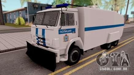 KamAZ 65116 Polícia para GTA San Andreas