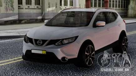 Nissan Qashqai 2016 White para GTA San Andreas