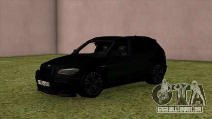 BMW X5M Black para GTA San Andreas