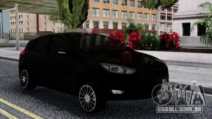 Ford Focus 3 Hatchback Stance para GTA San Andreas