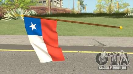 Flag Of Chile para GTA San Andreas