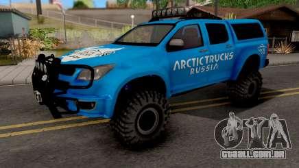 Chevrolet S10 Arctic Truck para GTA San Andreas