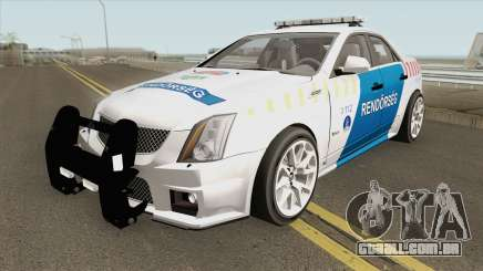 Cadillac CTS Magyar Rendorseg para GTA San Andreas