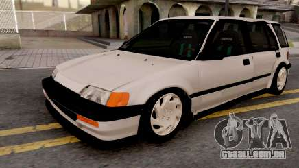Honda Civic Shuttle 1991 para GTA San Andreas