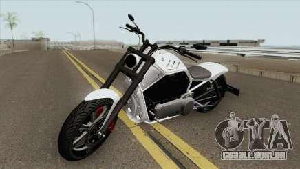 Western Motorcycle Nightblade GTA V (Custom) para GTA San Andreas