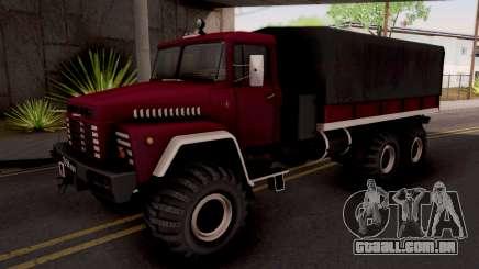 KrAZ-260 para GTA San Andreas