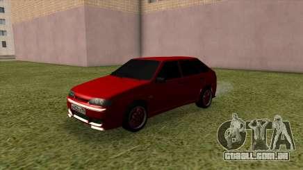 VAZ 2114 Tuning Vermelho para GTA San Andreas