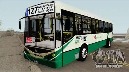 Metalpar Iguazu II Agrale MT15 Linea 127 Interno para GTA San Andreas