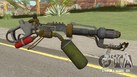 Flame Thrower HQ para GTA San Andreas