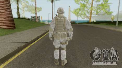 The Damned 33rd Soldier V2 (Spec Ops: The Line) para GTA San Andreas