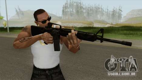 M16A2 Full Jungle Camo (Stock Mag) para GTA San Andreas