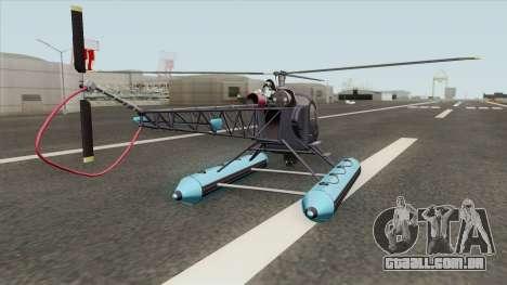 Sea Sparrow V2 GTA V para GTA San Andreas