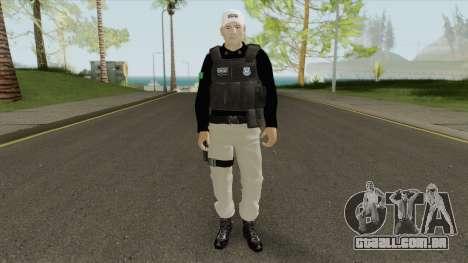 Brazilian Police Skin V1 para GTA San Andreas