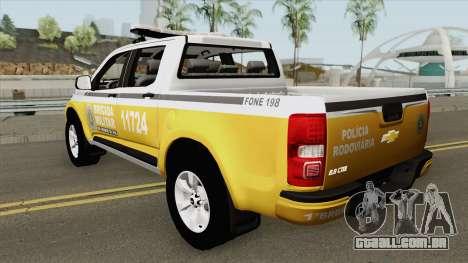 Chevrolet S10 (Brazilian Police) para GTA San Andreas