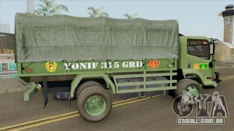 Isuzu Truck (Army) para GTA San Andreas