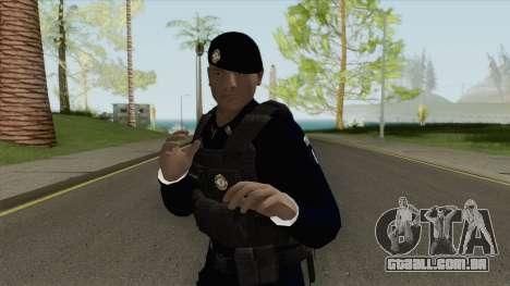 Brazilian Police Skin V2 para GTA San Andreas