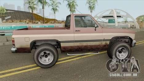 Declasse Rancher GTA IV (SA Style) para GTA San Andreas