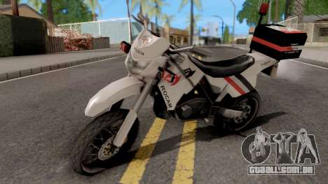 XT660 Beta Sanchez Edit para GTA San Andreas
