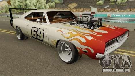 Dodge Charger 69 RT By Donz 1969 para GTA San Andreas