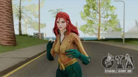 Aquawoman (Mera - Queen Of Atlantis) para GTA San Andreas