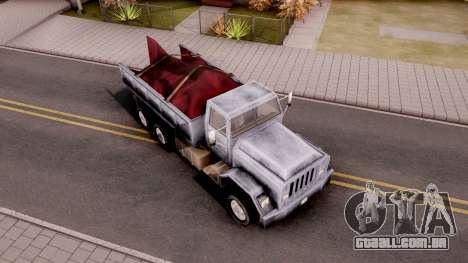 Flatbed GTA VC Xbox para GTA San Andreas
