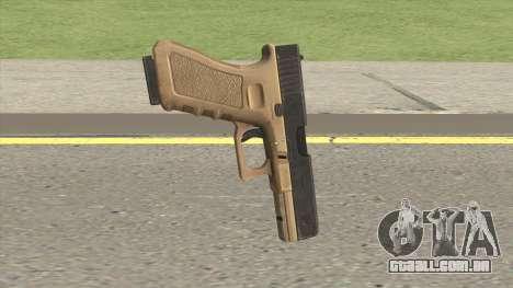 Glock 17 Tan para GTA San Andreas