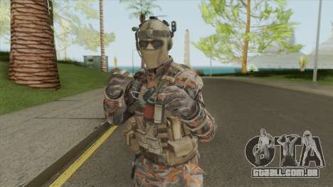 Merc V1 (Call of Duty: Black Ops II) para GTA San Andreas