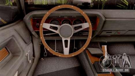 Dodge Challenger 1970 para GTA San Andreas