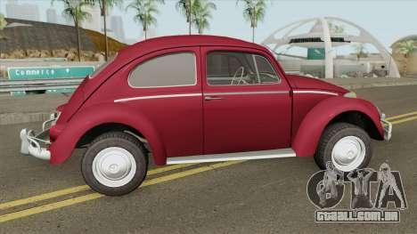 Volkswagen Fusca 1300CC 1964 V2 para GTA San Andreas