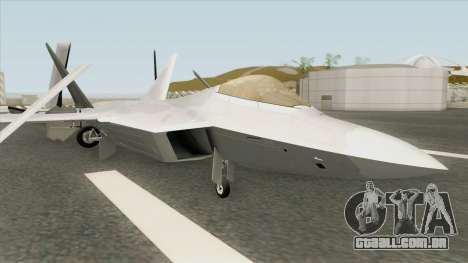 F-22 Raptor para GTA San Andreas