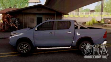 Toyota Hilux Front Fortuner 2018 para GTA San Andreas