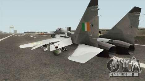 MiG-29 Indian Air Force para GTA San Andreas