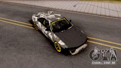 Nissan Skyline R33 Drift Camo v2 para GTA San Andreas